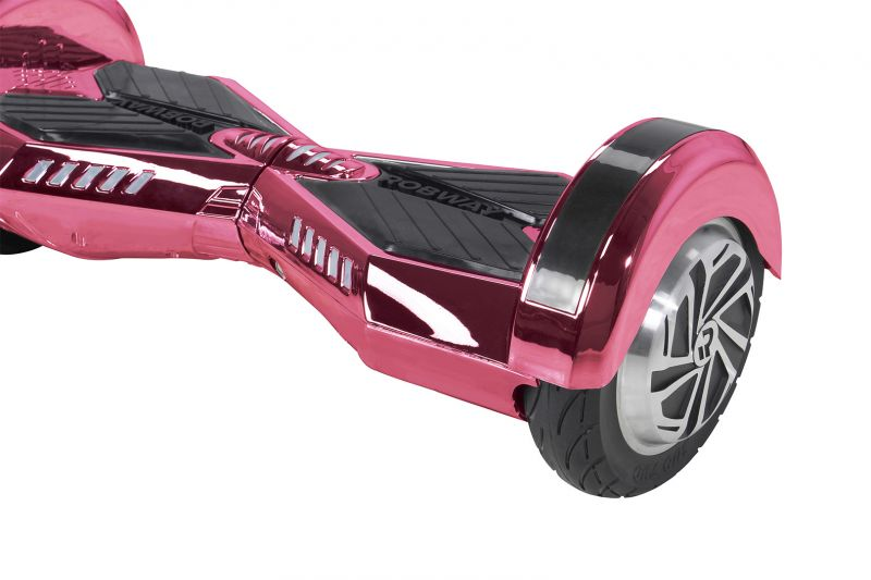 robway w2 hoverboard 8 zoll reifen chrome edition. Black Bedroom Furniture Sets. Home Design Ideas