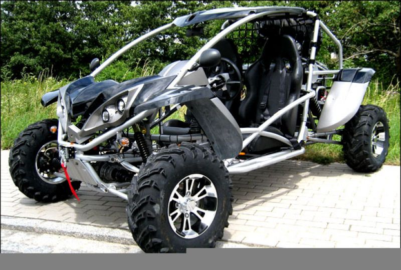 buggy luck vehicle 600 efi 4x4 buggy mit stra enzulassung. Black Bedroom Furniture Sets. Home Design Ideas